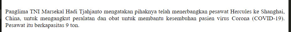 Hasil Selector Paragraf